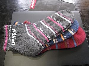 誕生日プレゼント(LEVIS)靴下0.jpg
